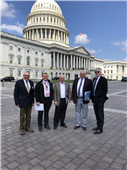 RRVWSP Reps Meet With ND Congressional Delegation