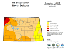 North Dakota Drought Conditions Continue